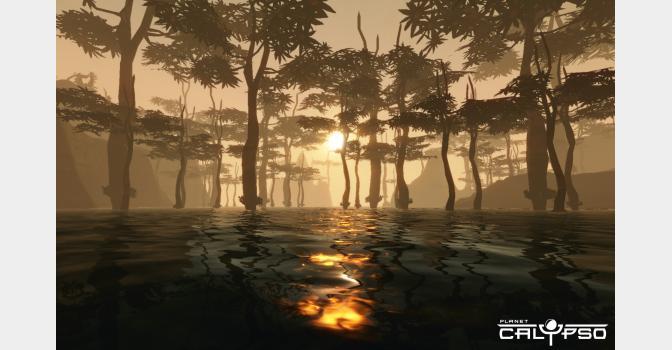 Скриншоты из игры Planet Calypso