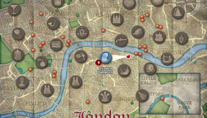 к игре Mystery in London: On the Trail of Jack the Ripper