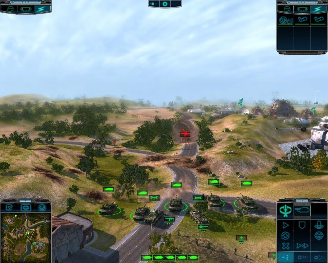 Текущий показываемый скриншот из игры strong em Elements of War/em/strong п