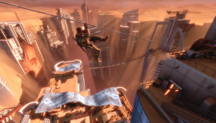 Шутер Spec Ops The Line перенесет игроков в уничтоженный город Дубай, в кот