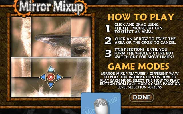 к игре Mirror Mixup