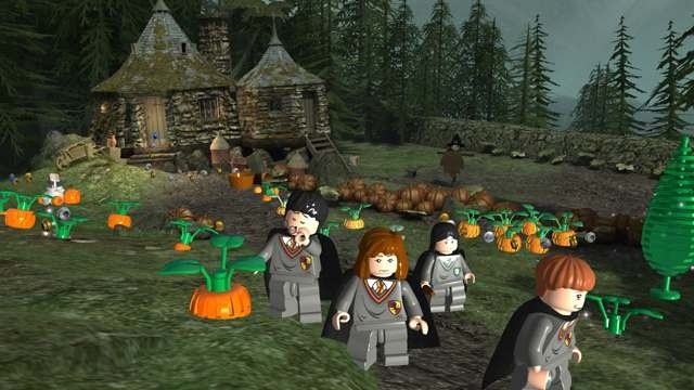 к игре LEGO Harry Potter: Years 1-4