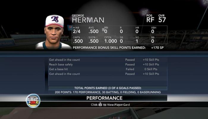 к игре Major League Baseball 2K10