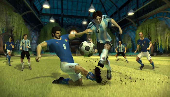 к игре Pure Futbol
