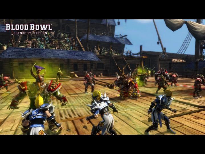 Бесплатно скачать игру: Blood Bowl - Legendary Edition (2010/PC). letitbit.
