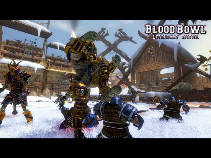 Скачать Blood Bowl Legendary Edition бесплатно (размер файлов 1.89 Gb). Че