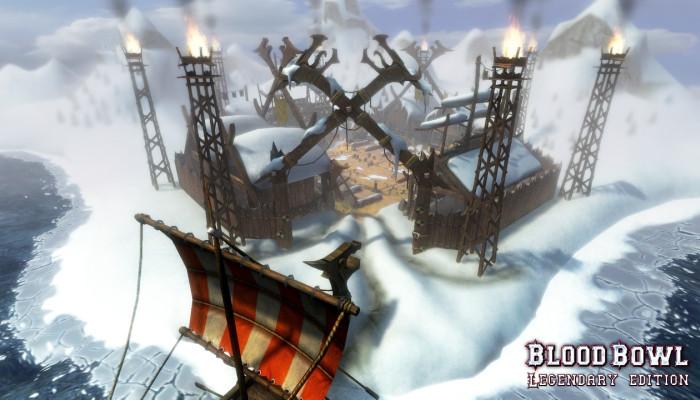 Скриншоты из игры Blood Bowl: Legendary Edition.
