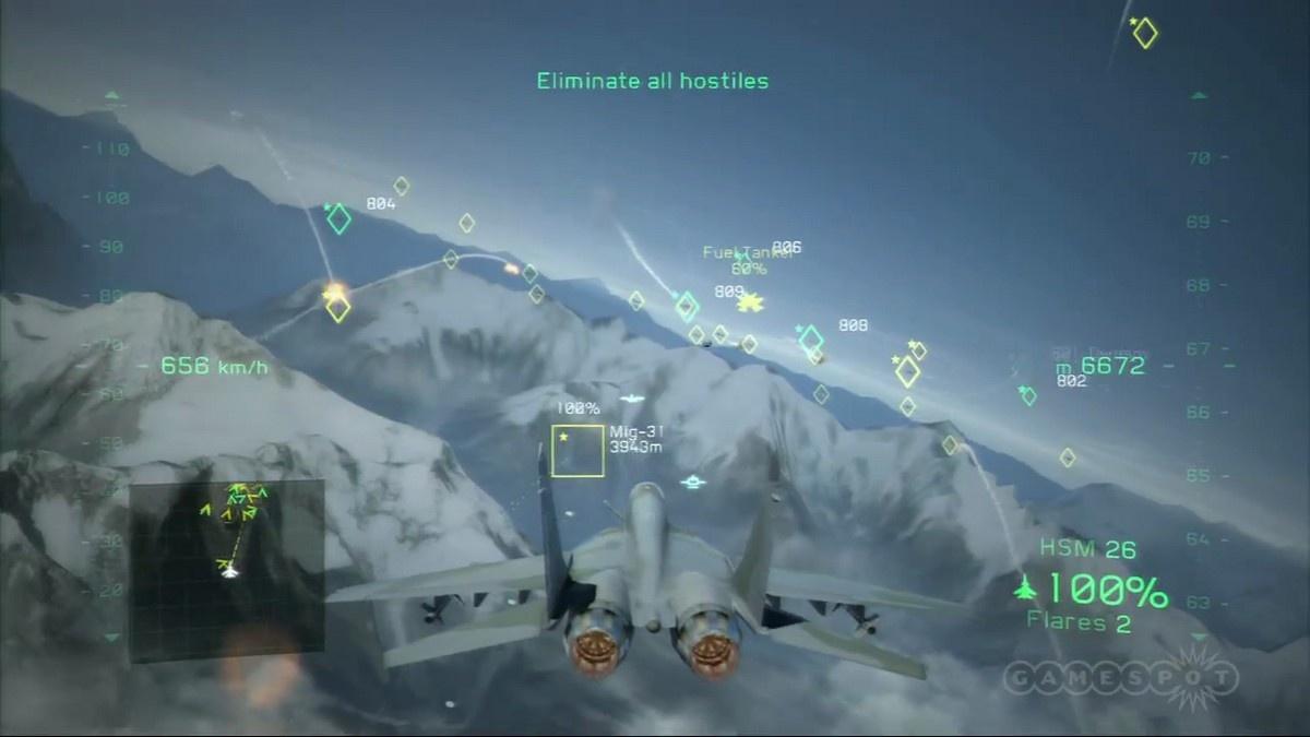 Tom Clancy's H.A.W.X. 2. Скриншоты из игр. Главная.