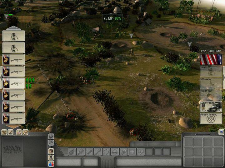 Скриншот з демо-версії гри В тилу ворога 2 Штурм.