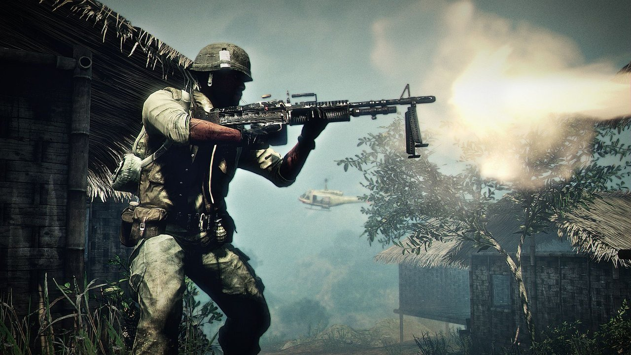 Прохождение battlefield bad company 2 vietnam