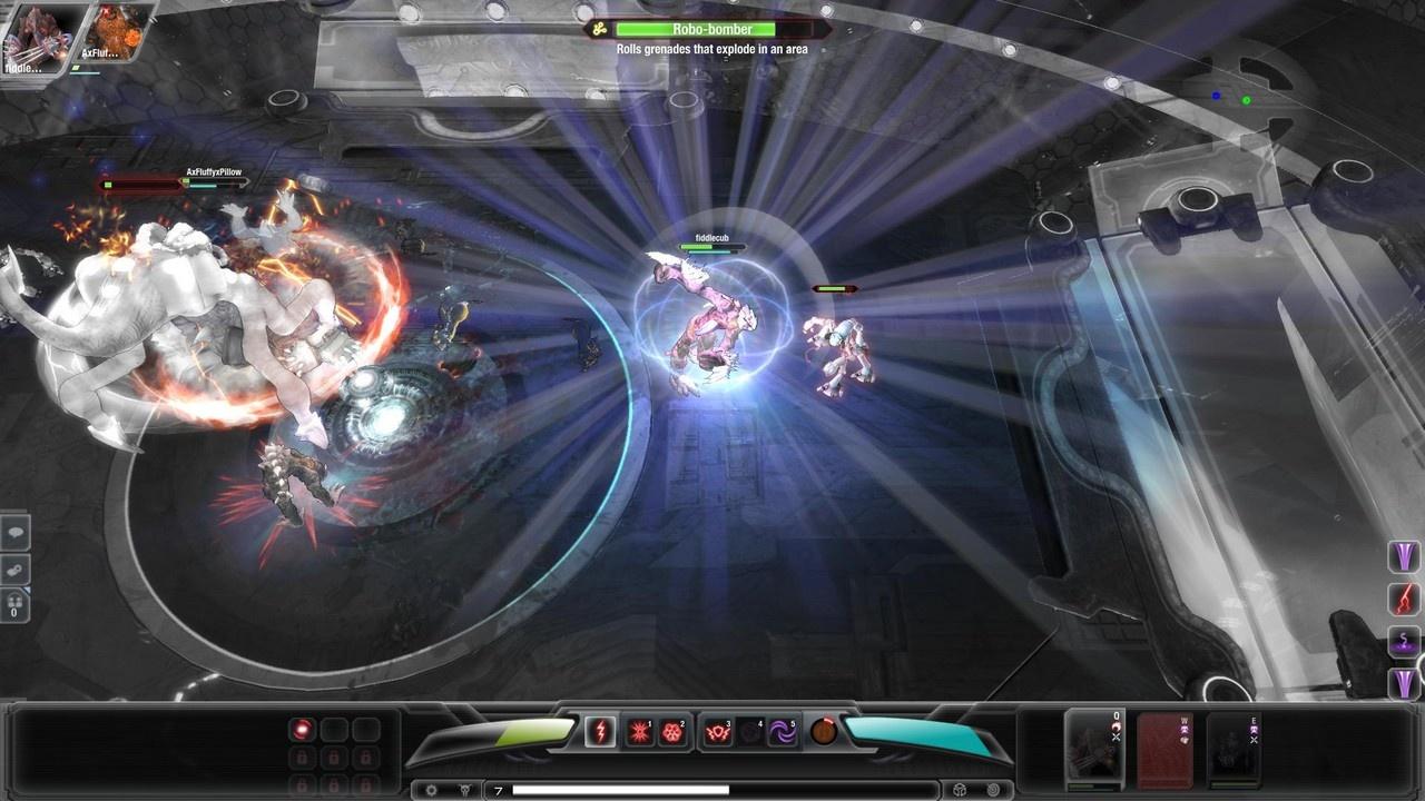 Скриншоты из игры Darkspore.