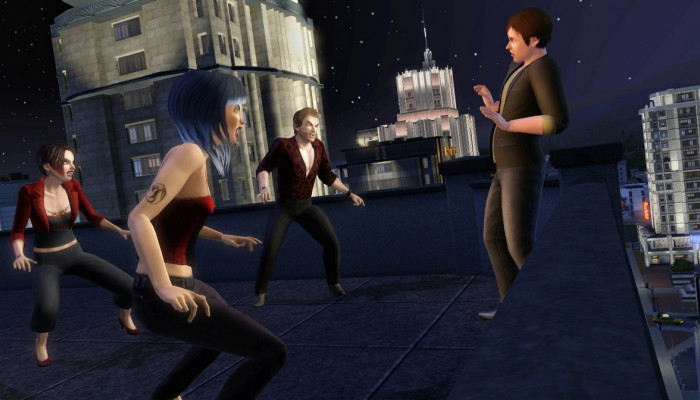 к игре Sims 3: Late Night, The