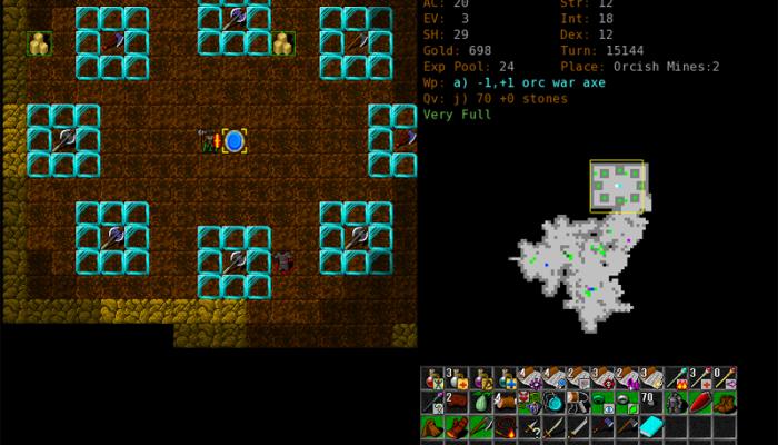 к игре Dungeon Crawl Stone Soup