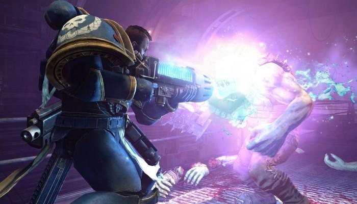 к игре Warhammer 40.000: Space Marine