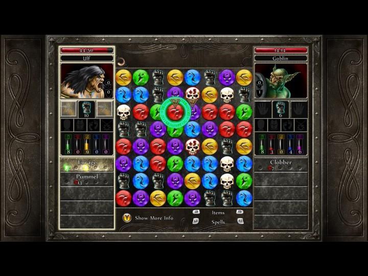 Перейти к скриншоту из игры strong em Puzzle Quest 2/em/strong под номером