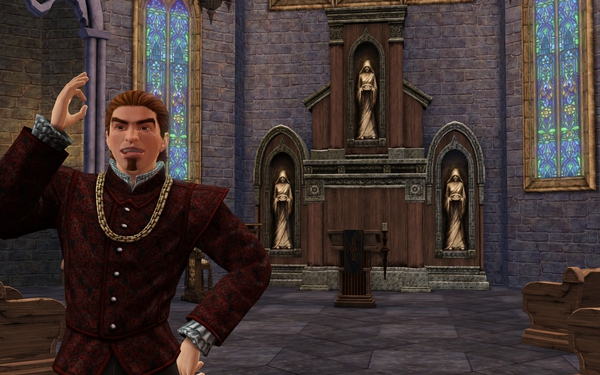 к игре Sims Medieval, The