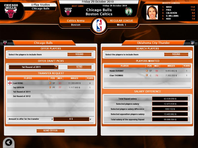 International Basketball Manager Season 2010 11 Data Vyhoda