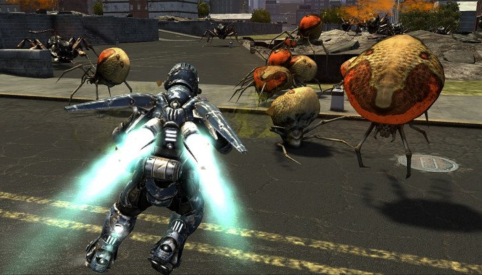 к игре Earth Defense Force: Insect Armageddon