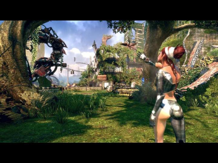 Скриншоты из игры Enslaved: Odyssey to the West.
