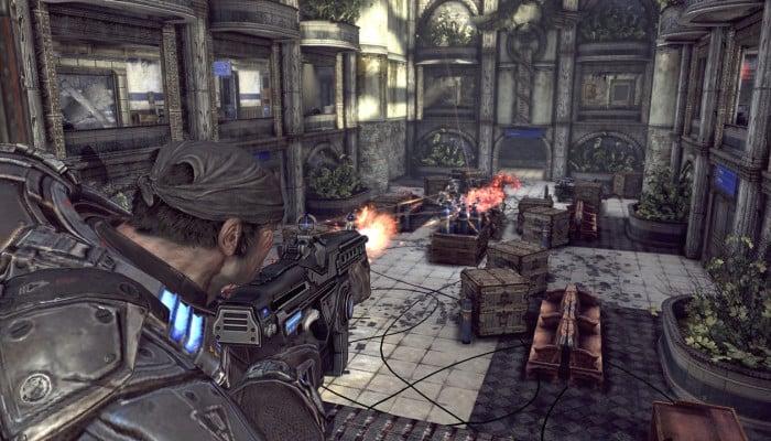 Gears of War 2 (Xbox 360). . Оправданная жестокость.