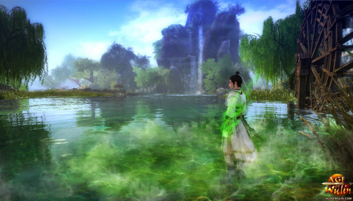 к игре Age of Wulin: Legend of the Nine Scrolls