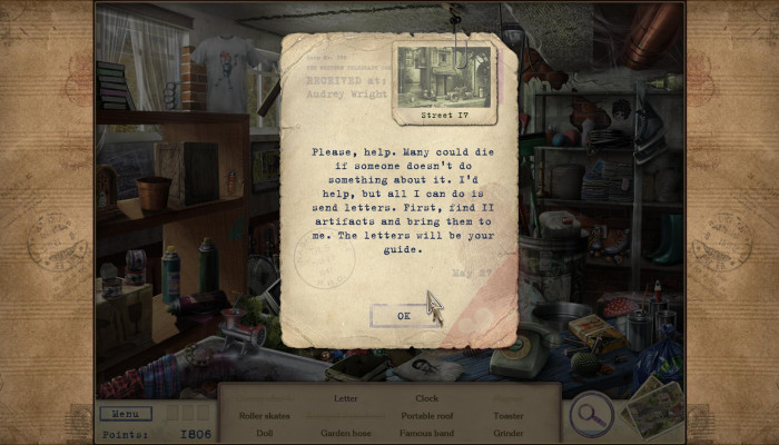 к игре Letters from Nowhere
