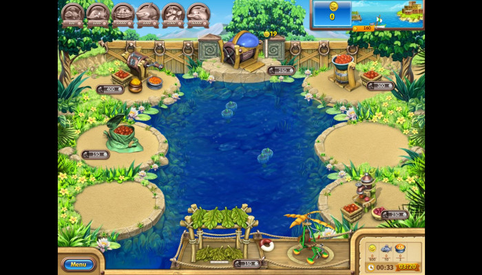 к игре Farm Frenzy 3: Gone Fishing