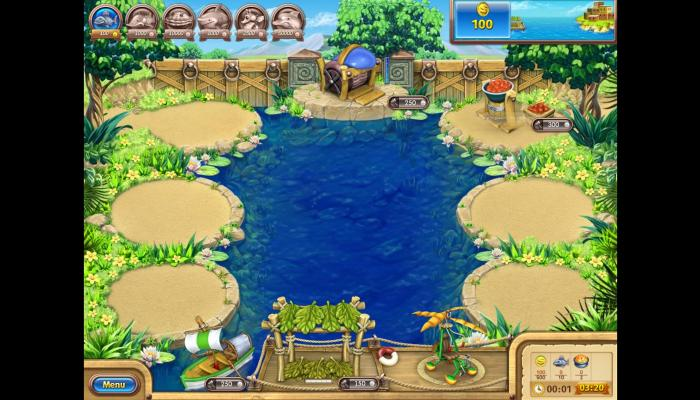 к игре Farm Frenzy 3: Gone Fishing