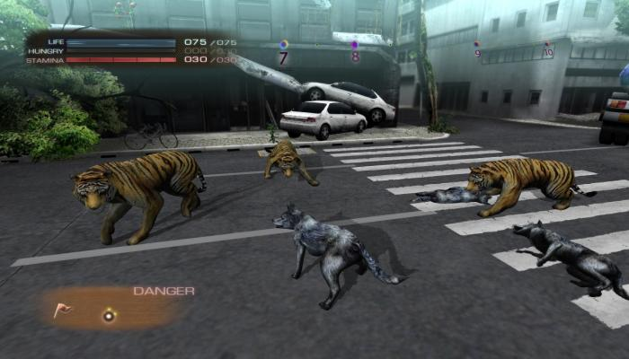 к игре Tokyo Jungle