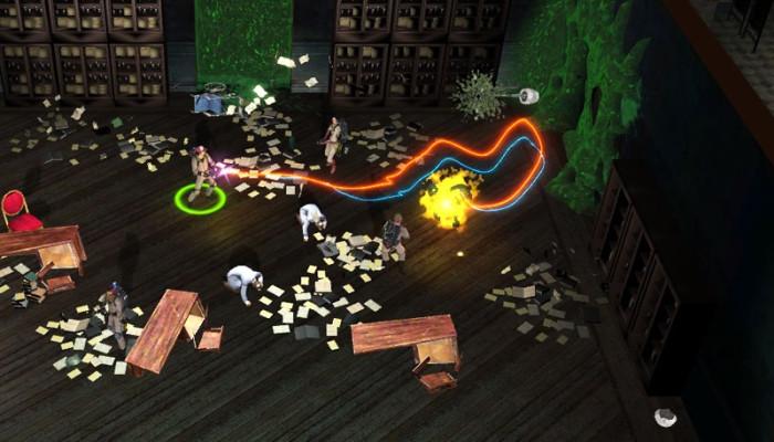 к игре Ghostbusters: Sanctum of Slime