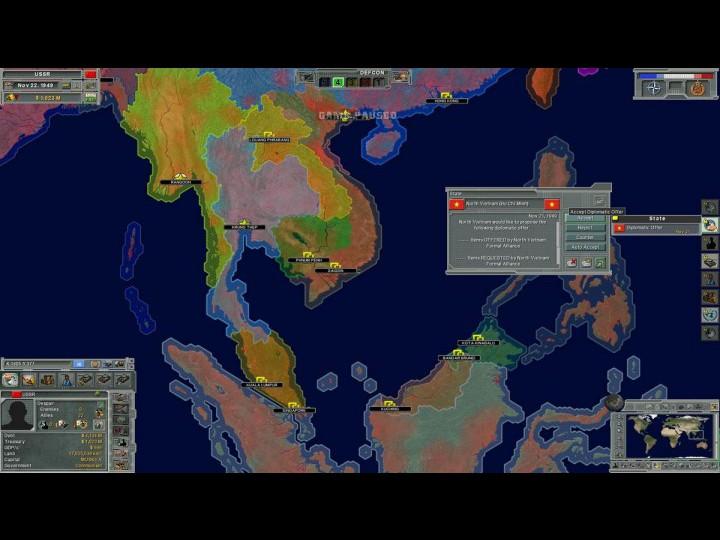 Supreme Ruler: Cold War screenshot скриншот.