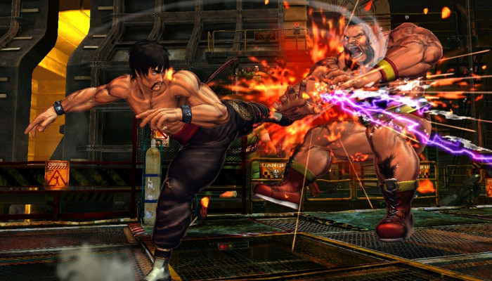 к игре Street Fighter X Tekken