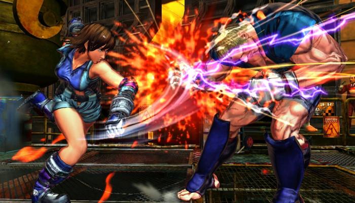 к игре Street Fighter X Tekken
