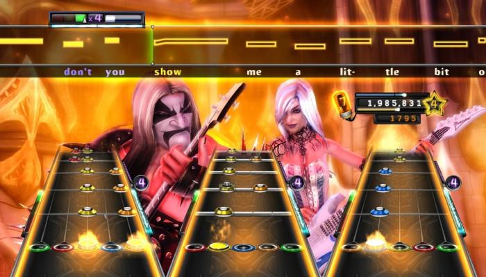 к игре Guitar Hero: Warriors of Rock