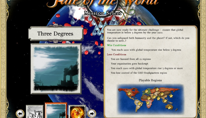 к игре Fate of the World