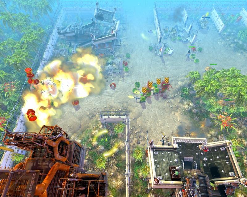Коды на cannon fodder 3