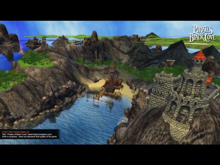 Четвёртый скриншот из игры Pirates of Black Cove.