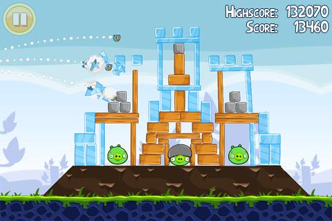 к игре Angry Birds
