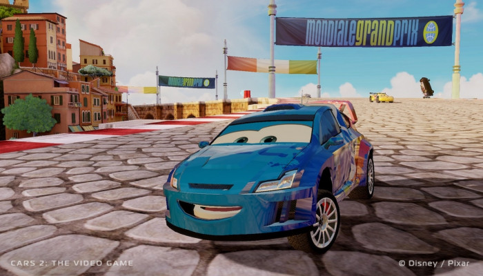 к игре Cars 2: The Video Game