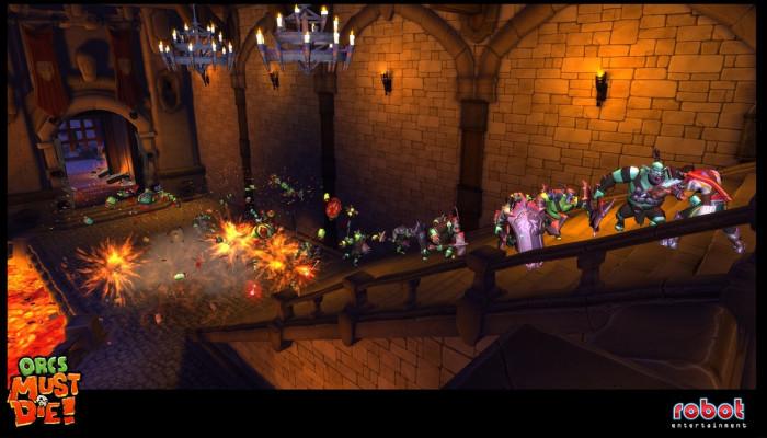 Скриншот из игры Orcs Must Die! под номером 7. Текущий показываемый скриншо