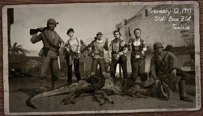 к игре Dino D-Day