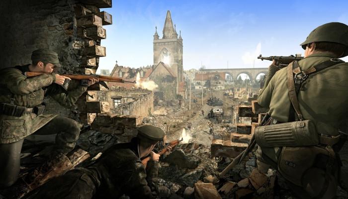 Sniper Elite Выкидывает Из Игры