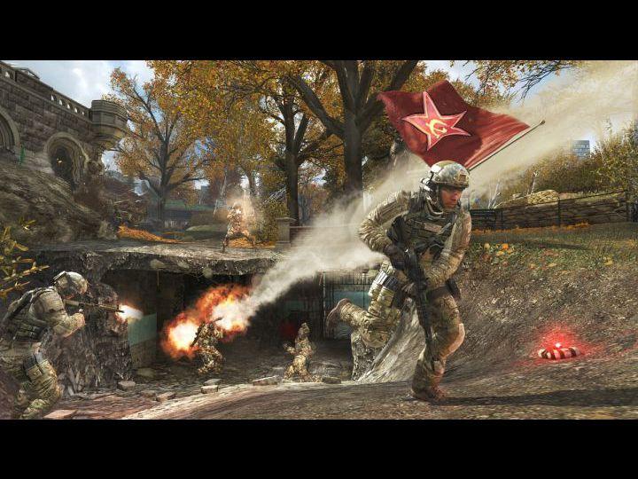 Скриншоты из игры Call of Duty: Modern Warfare 3.