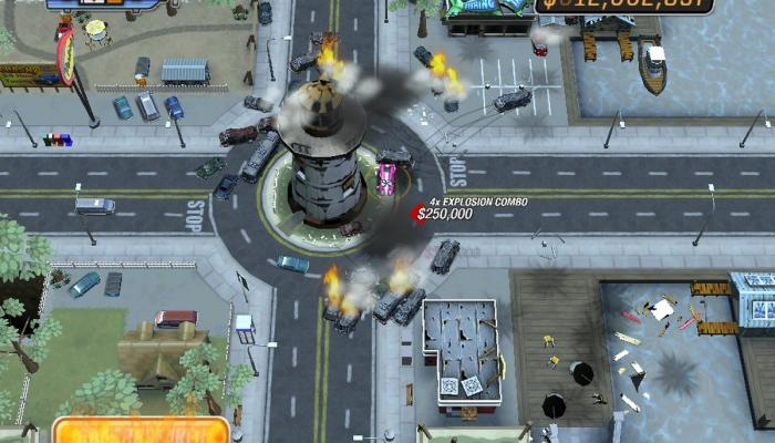 к игре Burnout CRASH!