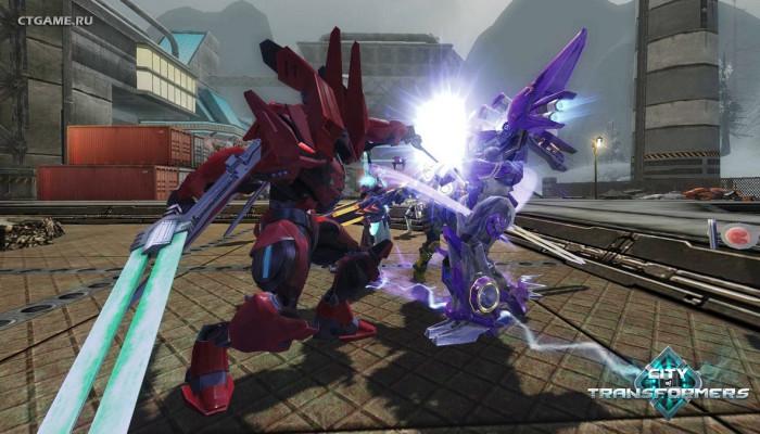 к игре City of Transformers