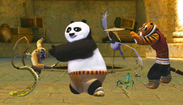 к игре Kung Fu Panda 2