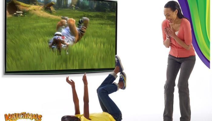 к игре Kinectimals