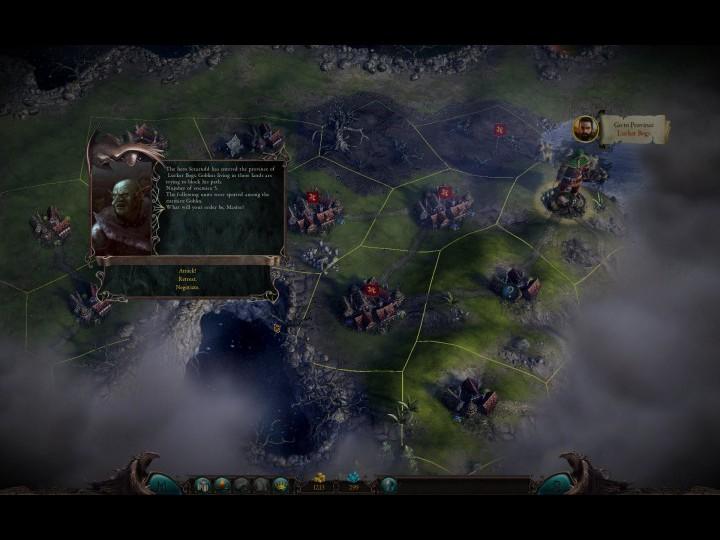 Скриншоты из игры Eador: Masters of the Broken World.