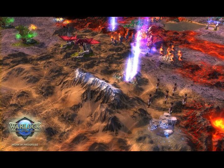 Скриншоты из игры Warlock: Master of the Arcane.