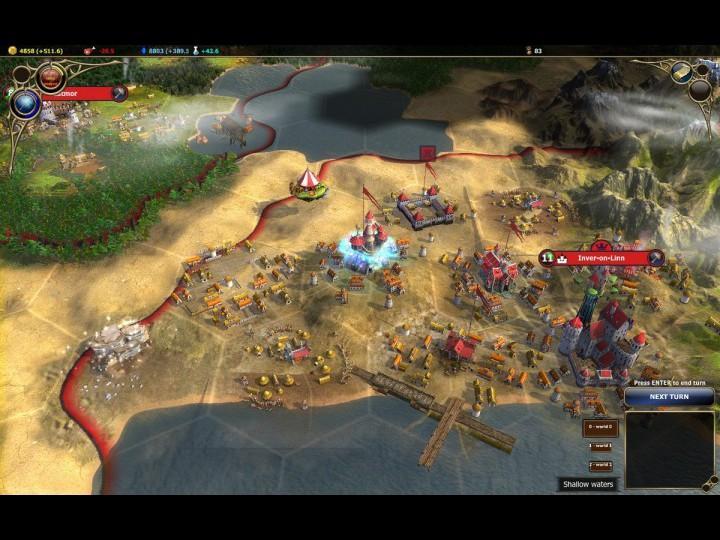Warlock: Master of the Arcane - новая пошаговая стратегия от Paradox Intera